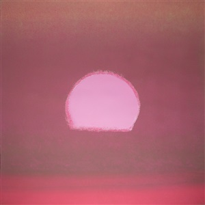sunset [439] by andy warhol